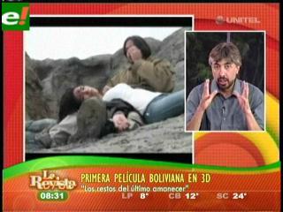 «Los restos del último amanecer» primer película boliviana en 3D