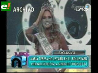 El boulevard con Olivia Pinheiro pero sin María Teresa Roca