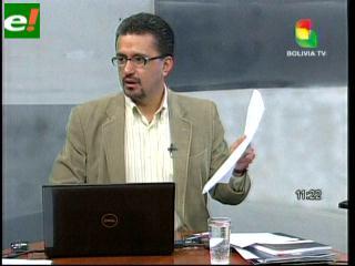 Sacha Llorenti apunta a identificar a financiadores del grupo terrorista- separatista