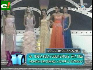 María Teresa Roca y Darling Rojas iniciarán demanda a PG