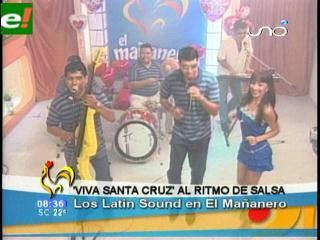 «Viva Santa Cruz» en ritmo de salsa