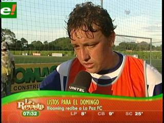 Blooming debe ganar o ganar a La Paz FC.