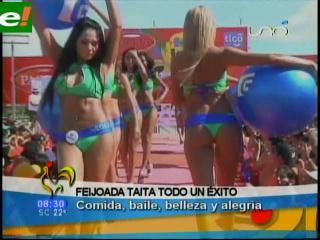 Feijoada y belleza en el carnaval 2011