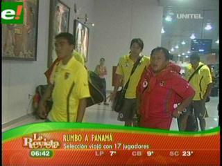 Bolivia rumbo a Panamá