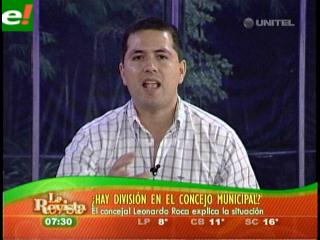 """Leonardo Roca: """"No hay división en el Concejo"""""""