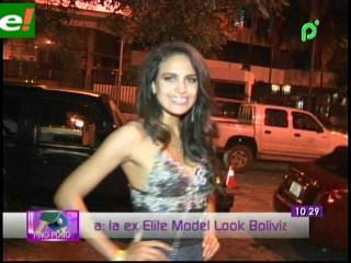 Daniela Núñez del Prado aspira a Miss Santa Cruz 2011