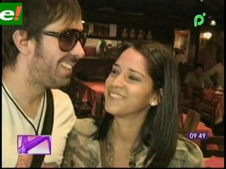 Romina, la cruceña que enamoró al guitarrista de Camila