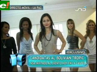 Miss Bolivian Tropic 2011