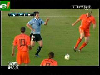 Uruguay le ganó a Holanda pensando en la Copa América