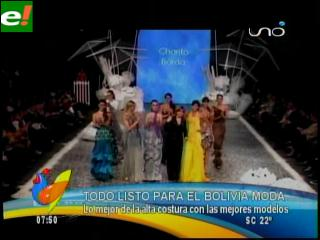 Bolivia Moda: La vitrina más glamorosa