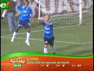 Oriente se va a Sucre, Blooming separa al paraguayo Ortiz