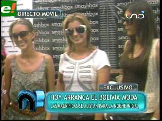 Las Magníficas listas para el Bolivia Moda 2011