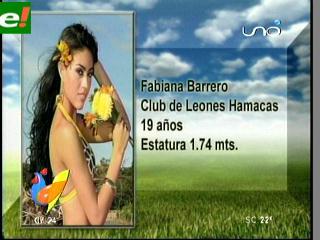 Hoy comienza el Miss Santa Cruz 2011