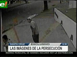 PAT muestra imágenes de la persecución de Costas a asaltantes