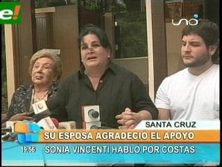 Rubén Costas se recupera en sala