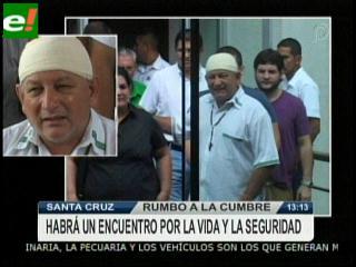 Rubén Costas reaparece y habla con los medios