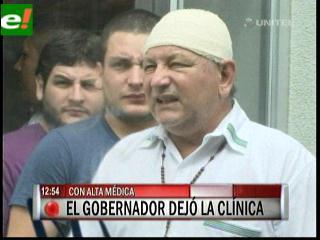 Rubén Costas ya está en su casa