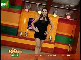 María Fernanda Rojas reina de la Exponorte 2011