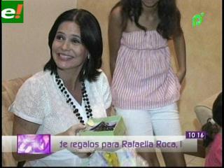 El baby shower de Sandra Parada