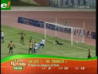 Derrotas de Strongest y Real Potosí, jugaron para Oriente y Bolívar
