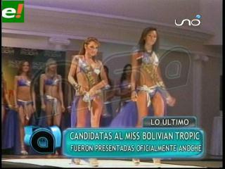 Miss Bolivian Tropic 2011 en la recta final