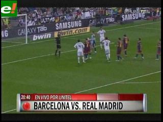 Barcelona-Madrid una final de infarto