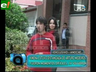 Ximena Vargas y Arturo Medeiros: Todo bien
