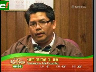 Julio Urapotina nuevo director del INRA