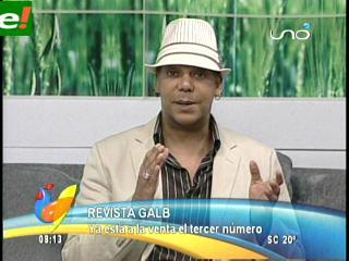 Sixto Nolasco presenta revista Galb