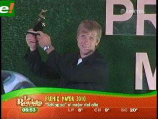Schiapparelli es el Premio Mayor