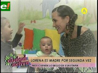 """Lorena Villalobos: """"No hay nada mejor que estar junto a sus hijos"""""""