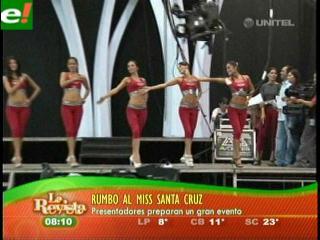 Hoy es la gran noche del Miss Santa Cruz 2011