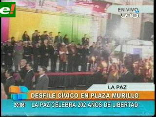 La Paz cumple 202 años