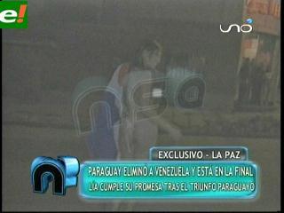 Paraguaya Se Desnuda En La Paz Ejutv