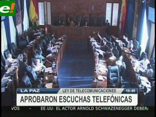 Críticas de la oposición a la nueva Ley de Telecomunicaciones