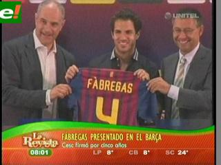 Cesc Fábregas ya es de Barcelona