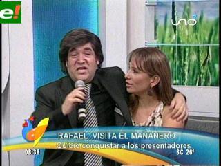 """Raphael hizo su """"escándalo"""" en Santa Cruz"""