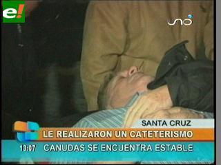 José Canudas pasó por el quirófano