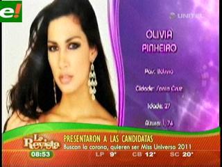 Presentan a las candidatas del Miss Universo 2011