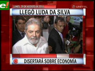 Lula disertará sobre economía
