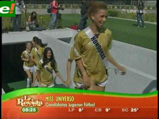 Miss Universo 2011: Divas del fútbol
