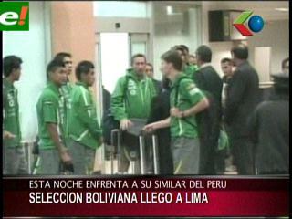 Perú ante Bolivia hoy desde las 21:15
