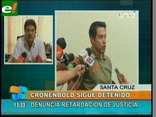 Abogado de Mario Cronenbold denuncia retardación de justicia