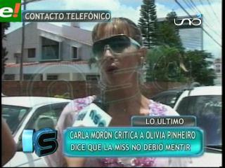 Carla Morón analiza la polémica de Olivia Pinheiro