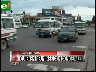 Carlos Saavedra: «El precio del transporte no se mueve»