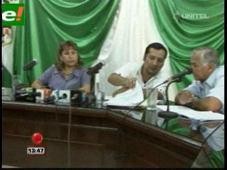 Wilfredo Añez sigue siendo alcalde de Cotoca a pesar de estar detenido