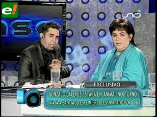 Gonzalo Cáceres cuestionado y querido en Chile