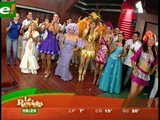 Comenzó el carnaval cruceño 2011