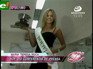 Bienvenida a María Teresa Roca