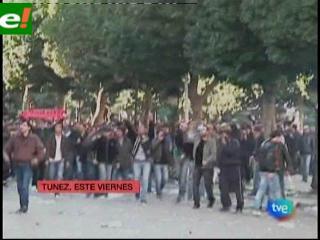 Túnez:»Revolución de los Jazmines» es una advertencia para regímenes árabes autoritarios